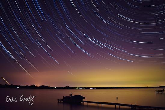 Stars Over Lake Champlain