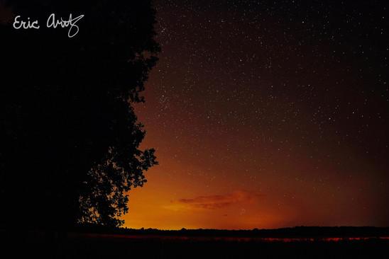 Last Light Over Vermont