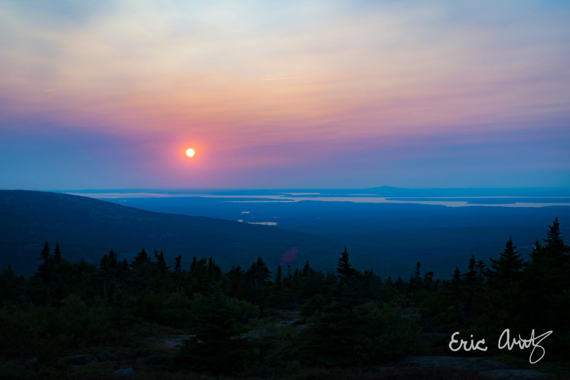 Cadillac Mtn Sunset, Acadia