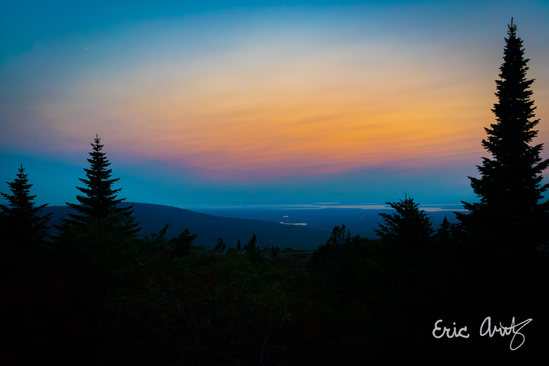 Cadillac Mtn Colors, Acadia