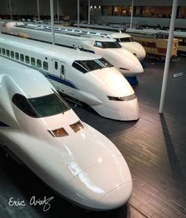 Japan's Bullet Train Evolution
