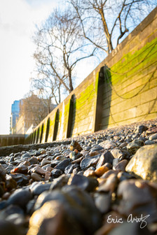 River Thames Floodwall, London