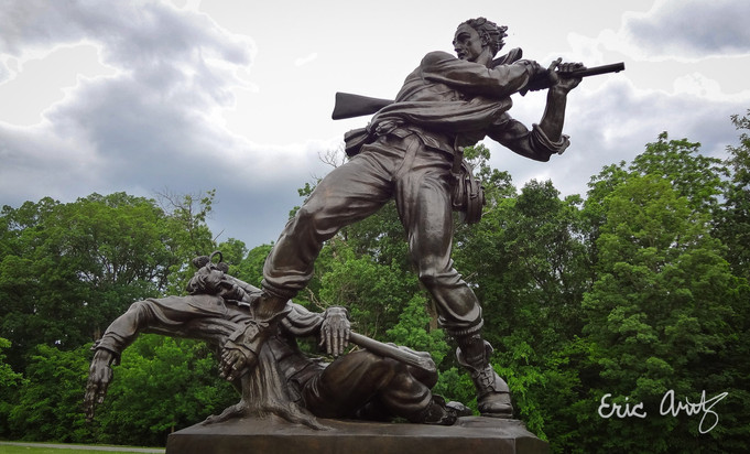 Battle of the Brothers, Gettysburg