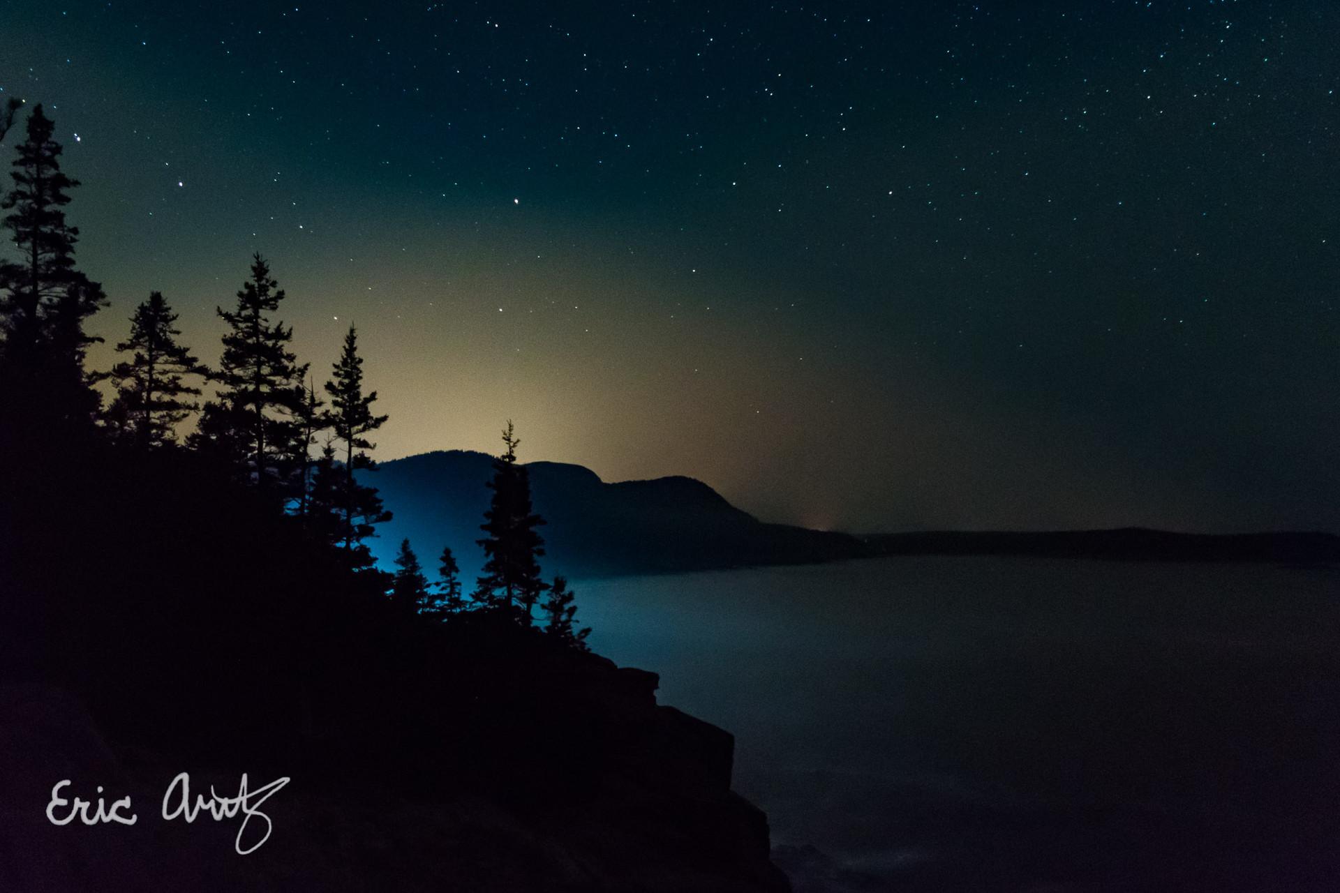 The Coast at Night, Acadia
