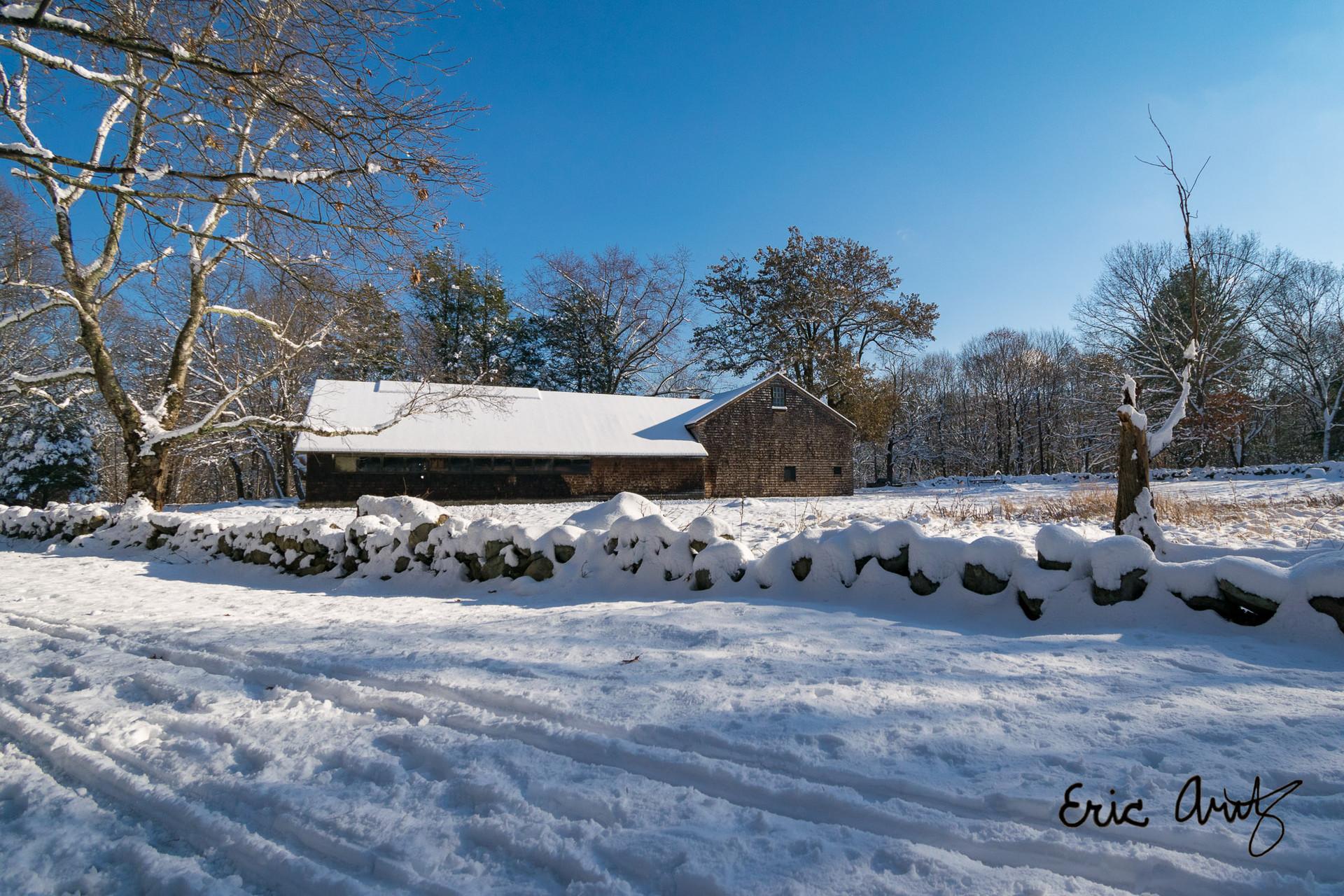 Historic Barn, Minuteman Park
