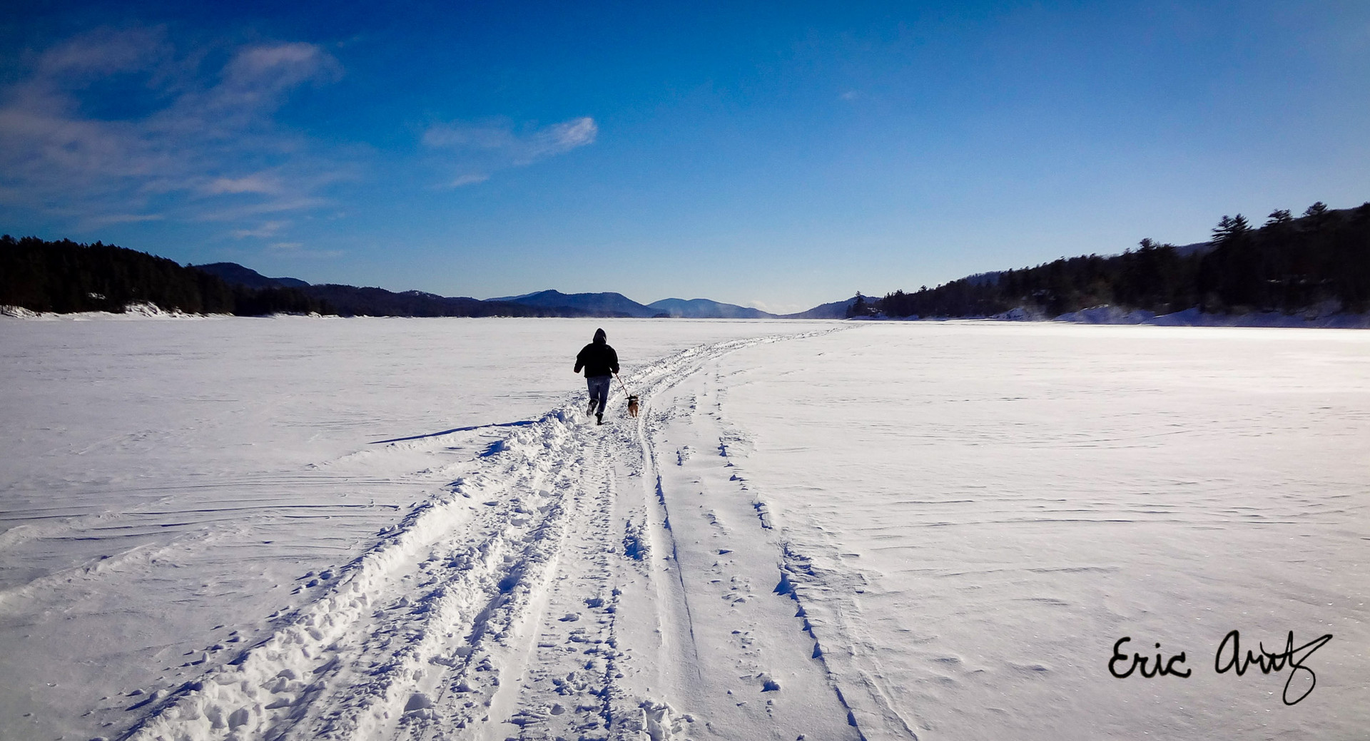 The Lonely Trail, Indian Lake