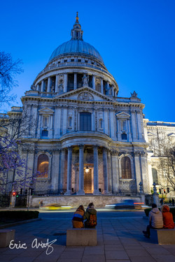 St. Paul's Cathedral at Night