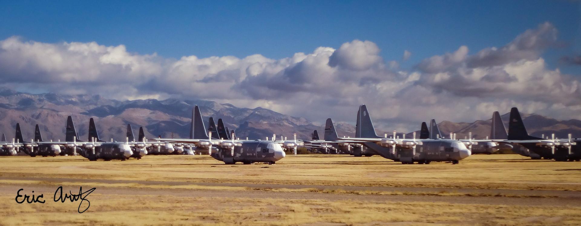 Aircraft Boneyard, Tucson