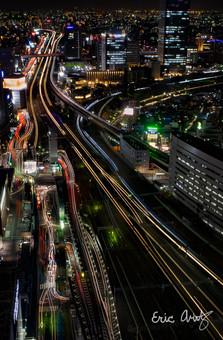 Nagoya Train Station at Night