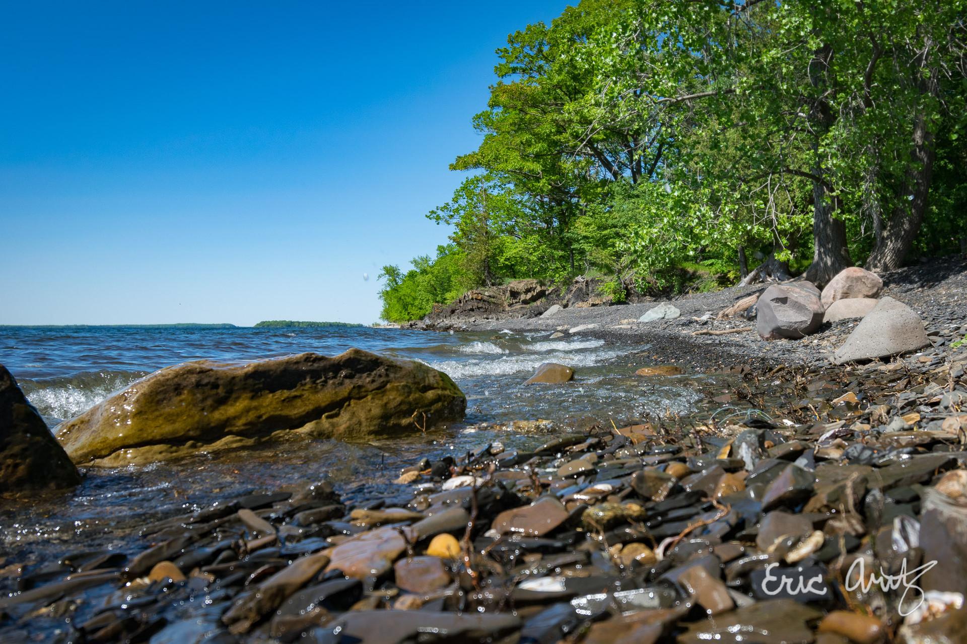 Rocky Shoreline, Burton Island