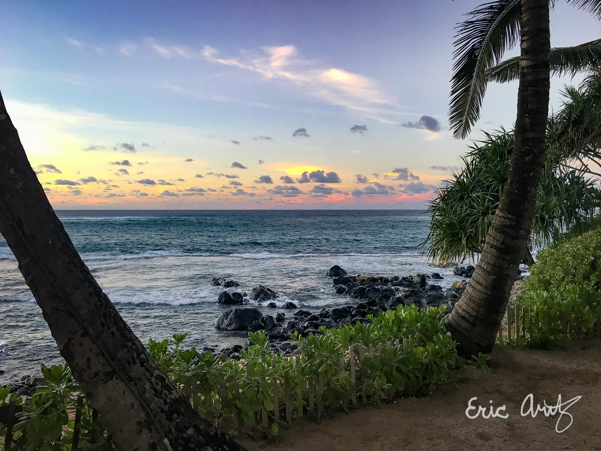 Sunset, Kuau Cove