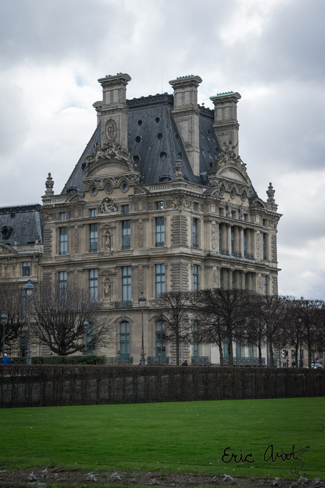 The South Wing of the Louvre in Paris