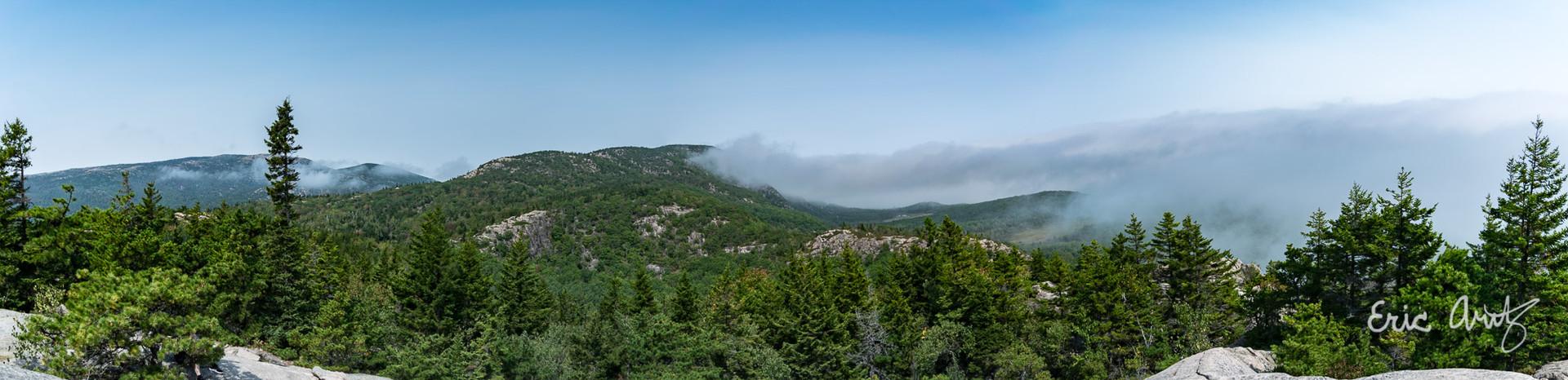 Fog Over Acadia