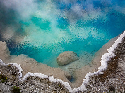 Turquoise Hot Spring, Yellowstone