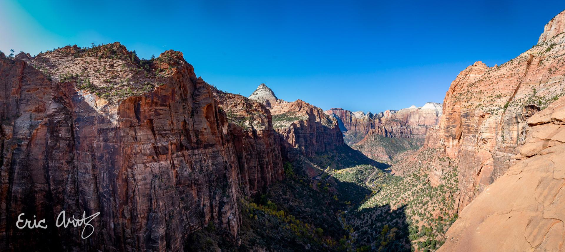 Zion Canyon Panorama