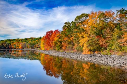 Autumn at the Cambridge Reservoir