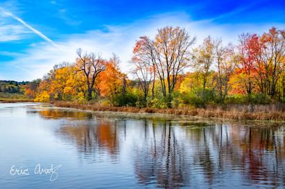 Fall Reflections, Assabet River