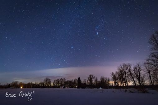 Starry Sky in North Hero, VT