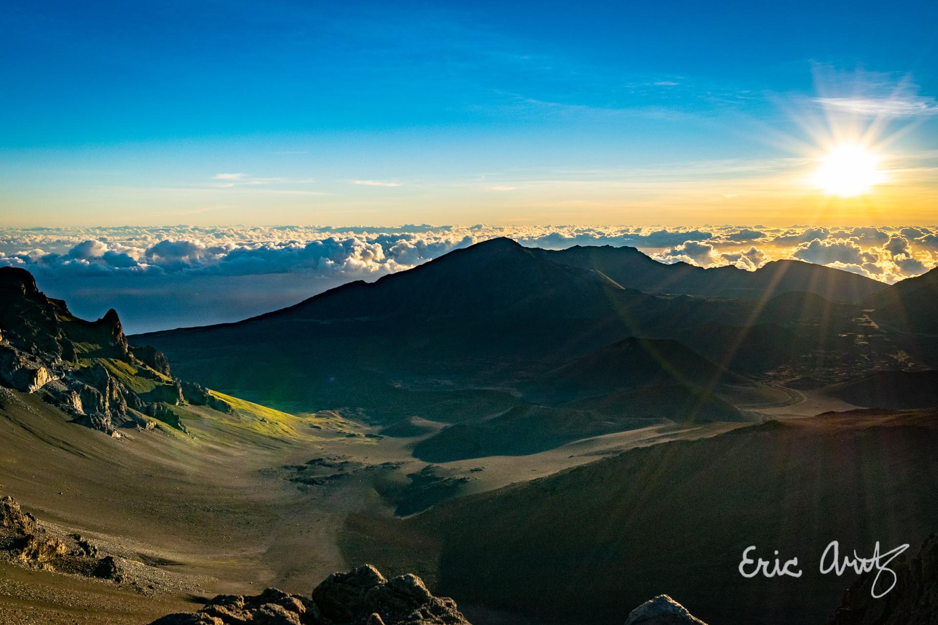 Haleakala Valley, Maui