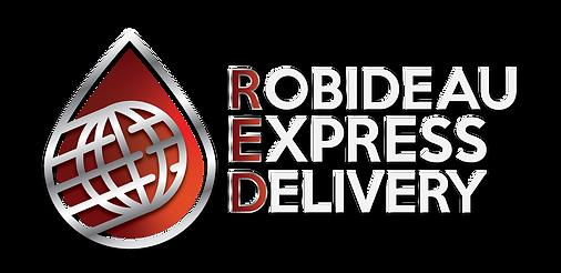 ROBIDEAU EXPRESS DELIVERY LOGO-WHITE NO