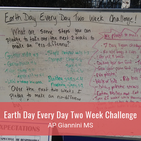 Earth Day Every Day Two Week Challenge