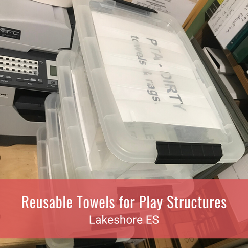 Reusable Towels for Play Structures