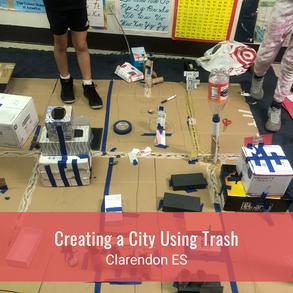 Creating a City Using Trash