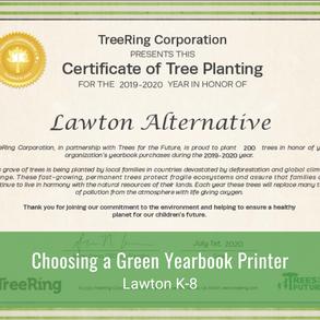 Choosing a Green Yearbook Printer
