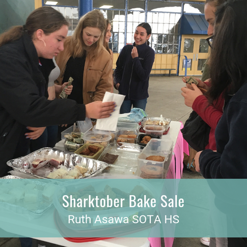 Sharktober Bake Sale