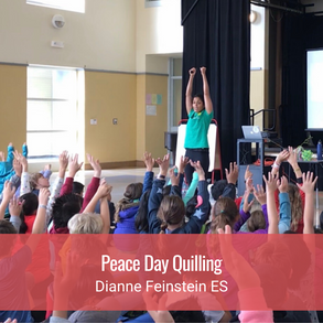 Peace Day Quilling