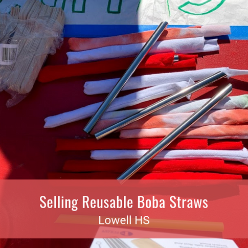 Selling Reusable Boba Straws