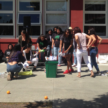 Earth Day Celebration at Lincoln HS