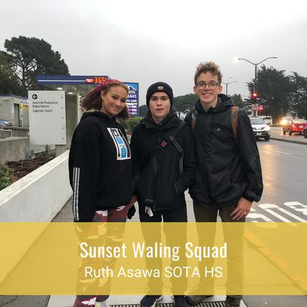 Sunset Walking Squad