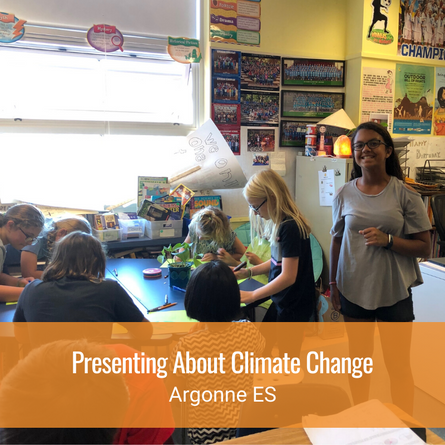 Presenting About Climate Change