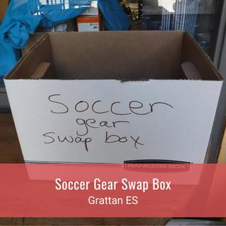 Soccer Gear Swap Box