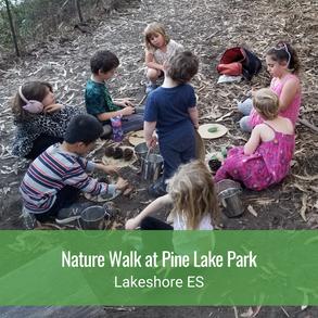 Nature Walk at Pine Lake Park