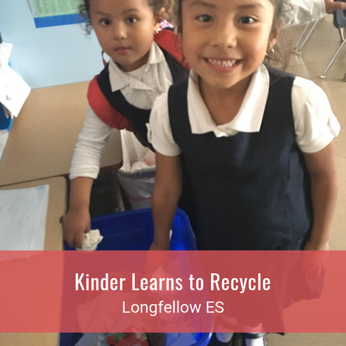Kinder Learns to Recycle
