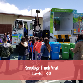 Recology Truck Visit