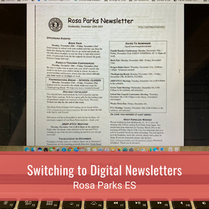 Switching to Digital Newsletters
