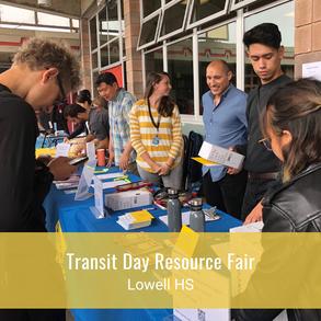 Transit Day Resource Fair