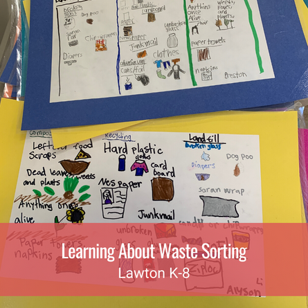 Learning About Waste Sorting