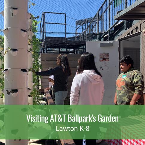 Visiting AT&T Ballpark's Garden