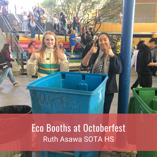 Eco Booths at Octoberfest