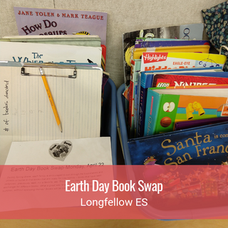 Earth Day Book Swap