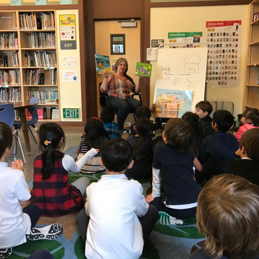 Earth Day Readings at Rosa Parks ES