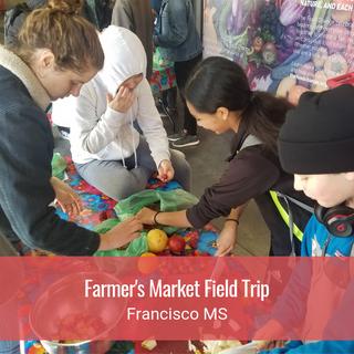 Farmer's Market Field Trip