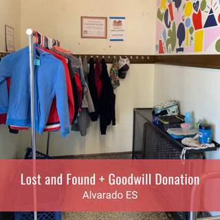 Lost and Found + Goodwill Donation