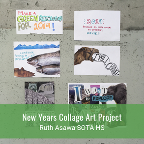 New Years College Art Project