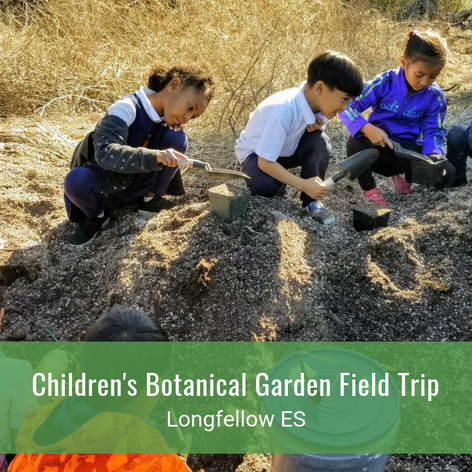 Children's Botanical Garden Field Trip