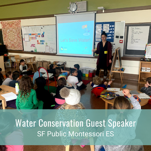 Water Conservation Guest Speaker